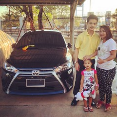 ยินดีต้อนรับ...สู่ครอบครัวโตโยต้า #TOYOTA #เติมความสุข #ทุกสัมผัส การส่งมอบรถยนต์ใหม่ #YARIS THAT