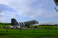 DC-2 @ Merville (Melvin Yue) Tags: uk usa canada france germany europe fuji worldwarii overlord ww2 fujifilm ww douglas normandy dday caen 1944 dc2 paratrooper operationoverlord x100s