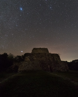 Night Mayan Ruins IV