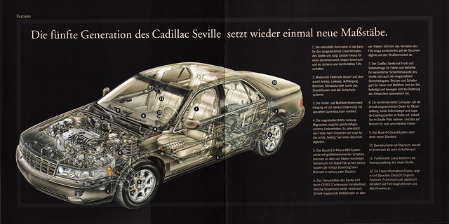 seville cadillac 1998 sts