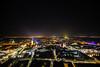 Big City Leipzig (steffen_brauer) Tags: red sky nikon bull leipzig arena nikkor lichter uniriese