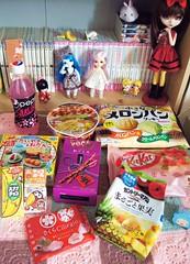 Tasty~ (Nokylema) Tags: food yellow japanese yummy dolls cookie candy tasty sakura pullip pan pepsi melon poseidon haru kirsche lati candysan nokylema