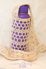 Water Bottle Holder (somethingbyvera) Tags: crochet yarn sling waterbottle moogly hydroflask mooglyblog