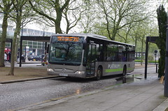 IMGP0563 (Steve Guess) Tags: uk england bus silver mercedes benz buckinghamshire central gb milton keynes bucks platinum arriva citaro