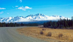 North to Alaska . . . (JLS Photography - Alaska) Tags: road travel mountain mountains alaska landscape landscapes outdoor yukon roads roadway roadconstruction mountainpeaks northof60 jlsphotographyalaska