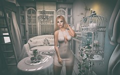 Pure White (Trixie Pinelli) Tags: white house building love fashion photography truth nest mesh sl secondlife blonde decor pure uber gacha drd thearcade deaddollz deathrowdesigns