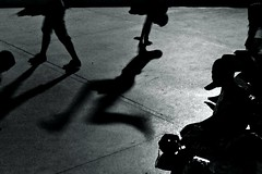 1 (ssedov) Tags: blackandwhite bw music cemetery youth night thailand shadows bangkok breakdance krungthep
