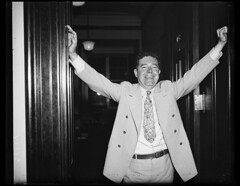 The Kingfish: Senator Huey P. Long of Louisiana after a five and half hour filibuster 8/27/35. He was assassinated two weeks later and remains a polarizing figure in Louisiana politics to this day. Photo Harris & Ewing [1024 x 793][OS] #HistoryPorn #histo (Histolines) Tags: two history this was photo louisiana long day senator five politics x retro huey hour figure half timeline after p harris he weeks remains later ewing the 1024 kingfish filibuster polarizing assassinated vinatage 82735 historyporn histolines 793os httpifttt1p3dafi