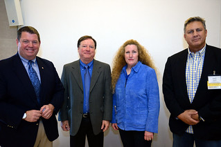 Dave Arland, Richard Lewis, Bonnie Beeman and Kevin Gage