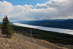 Big Fox Lake View (MIKOFOX  Catching Up!) Tags: lake canada mountains ice clouds landscape spring may hills yukon spruce xt1 minersrange bigfoxlake fujifilmxt1 xf18135mmf3556rlmoiswr screwtheautotagbot mikofox
