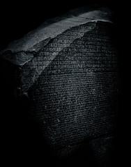 Block Cipher (Skuggzi) Tags: uk england blackandwhite bw black london history archaeology monochrome stone museum writing ancient unitedkingdom egypt culture historic egyptian gb mysterious language iconic cultural hieroglyphs egyptology
