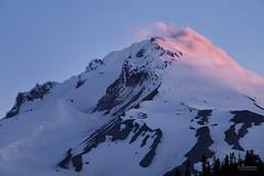 Summit Clouds (jpeder55) Tags: mountain snow nature sunrise landscape spring glacier whiteriver mthood fujifilm jpedersenphotography