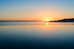 Baja (jefecruh) Tags: ocean blue sunset sea sky orange sun color sol beach water pool azul landscape mexico atardecer mar agua nikon horizon playa paisaje piscina cielo baja naranja horizonte bcs alberca ocano