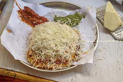Samosa Cheese toast, Raju Sandwich Stall, opp HR College, Dinshaw Wachha Road, Churchgate, Mumbai, Maharashtra - India (Humayunn Niaz Ahmed Peerzaada) Tags: street india maharashtra mumbai foodphotography streetfoodphotography zeissfe2470mmf4 sonya7s mumbaistreetfoodphotography rajusandwichstall samosacheesetoast sonyilces