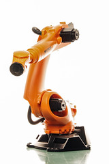 Little Student Exercise (Vicco Gallo) Tags: light contrast studio toy robot illumination meter lightmeter ratio metering kuka belichtungsmesser strobist meterin