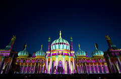 Dr Blighty (CardiganKate) Tags: light building night hospital dark brighton exterior wwi royalpavilion projections brightonfestival indiansoldiers canon5dmkiii sigma1530mm3545dg drblighty