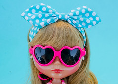Stay cool friends (_plastic_fashion) Tags: blythedoll