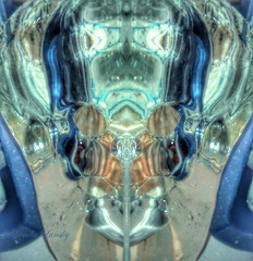 Frozen Life Force (rhonda_lansky) Tags: life blue ice face skull frozen force vision fantasy scifi visual sureal facial blueice iceart icephotograph
