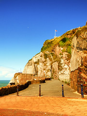 Ilfracombe, North Devon (photphobia) Tags: uk sky holiday vanishingpoint seaside outdoor perspective victorian ilfracombe northdevon oldwivestale victorianresort