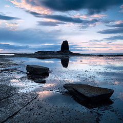 Eye Movements (jasontheaker) Tags: ocean sunset sea summer water outdoor shipwreck whitby saltwickbay blacknab