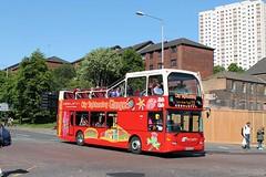 West Coast Motors - YN55 RDV (MSE062) Tags: city west bus coast scotland open top glasgow sightseeing double motors motor mull services topper tobermory scania decker citybus wcm rdv quantock yn55 yn55rdv l94ud