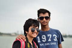 Richa & Mehul [Stranger # 16 / 100] (s) Tags: india 50mm richa newtown kolkata calcutta tanisha mehul westbengal ecopark rajarhat 100strangers nikond7000