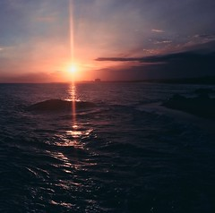 D A W N  .   F L A R E (Ri) Tags: sunset landscape dawn vietnam flare beaches rai hococ hotram raikko mobiography iphone6s