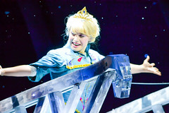 Elsa is One with the Wind (chipanddully) Tags: frozen disney dca elsa anthem californiaadventure letitgo hyperiontheater liveatthehyperion