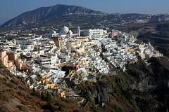 Santorini...Fira.. (klentosharry) Tags: santorini fira cyclades canon greece color canoneos5d landscape view