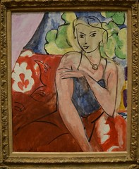 Young Girl Seated (Calvin Faunus) Tags: ohio oberlin oberlincollege allenmemorial artmuseum art painting matisse henrimatisse younggirlseated