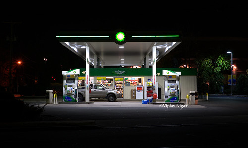 BP Gas Station - a photo on Flickriver