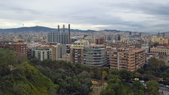 Barcelona cityscape (LunaticDesire) Tags: barcelona city houses homes house building home architecture cat buildings spain nikon europe cityscape exterior bcn eu catalonia es dslr catalan espagna d40