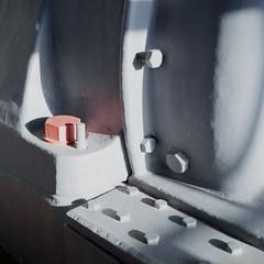 Red part (Kelsinvariel) Tags: 120 6x6 film museum canon square ps bronica fujifilm kit lithuania vilnius fujicolor c41 bsquare superiaxtra400 sqai zenza 8028 selfdevelop tetenal zenzanon canoscan9000f