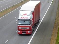 SF11 MMV (Cammies Transport Photography) Tags: truck adams renault lorry duncan premium flyover mmv m74 lockerbie sf11 sf11mmv
