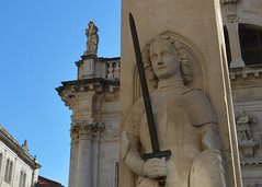 Dubrovnik, Old Town (Shaken, not stirred 2013) Tags: old fountain town orlando palace column dubrovnik rectors onofrio