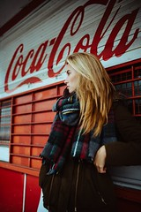Nicolina (tonikolbephotography) Tags: street city winter portrait girl fashion female 35mm al model nikon december cola outdoor availablelight longhair cologne lifestyle blond cocacola dezember d800 cgn