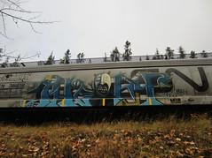 THEORY (YardJock) Tags: metal graffiti steel character theory spraypaint piece hopper freighttrain benching fr8ophiles benchreport