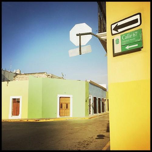 Calle 67. Campeche, Mexico. December 25, 2014.