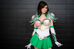 Sailor Jupiter (_Codename_) Tags: green edmonton expo cosplay alberta comicon sailormoon 2014 sailorjupiter andyrae comicentertainment battlescout battlescouts