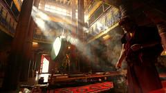 ritual (parasher) Tags: india buddhism monastery tibetan leh ladakh thiksey hemis parasherbaruah