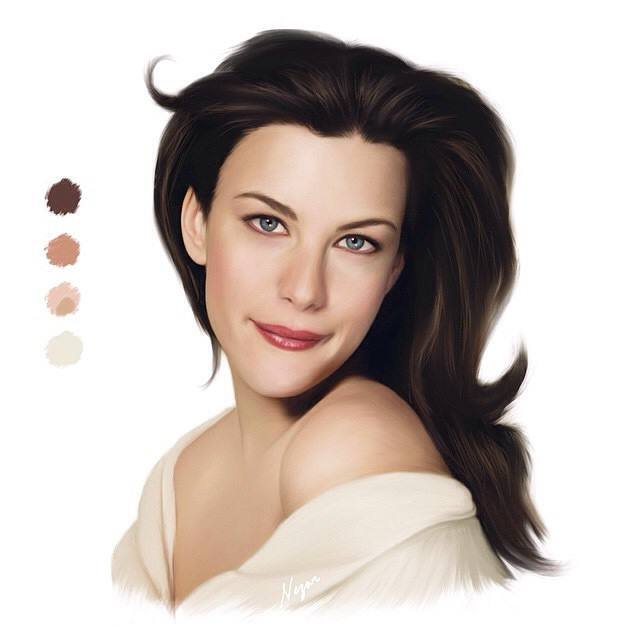 Repost from @nezaralnakhebi #art #artist #draw #drawing #paint #painting #digital #digiitalpaint #digitalpainting #love #beauty #actress #mattepainting #liv #livtyler #livtylerdrawing My soft digital painting for the American actress LIV TYLER @misslivali