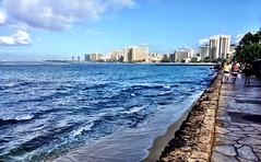 waikiki walk (aprilpix) Tags: sun beach fun sand surf waves waikiki oahu aprilpix