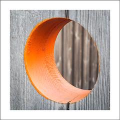 Orange circle (Christa (ch-cnb)) Tags: orange norway circle norge olympus round pro trondheim srtrndelag zuiko omd halfmoon trndelag brattra em5 trondheimfjord microfourthirds brattrkaia mzd1240mm