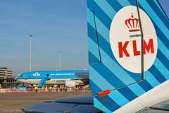 KLM History... (Mark_Aviation) Tags: november 2 history netherlands dutch amsterdam last airplane airport unique aircraft flight engine royal retro number passenger 11th klm douglas airlines ever dc3 schiphol making dakota rare 737 md11 dak mcdonnell 2014 737800 phkcd phpba phkcb retroklm 11112014