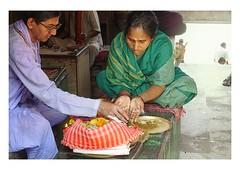 puja in kolkata (handheld-films) Tags: travel woman india female religious worship indian religion ceremony documentary holy sacred offering pooja ritual spiritual hinduism kolkata puja calcutta hindi westbengal subcontinent pujari