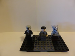 Spiderman Enemies (Group MOC) (sapperldr85) Tags: lego tombstone spiderman custom marvel hammerhead minifigure manwolf