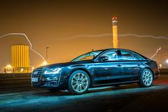 Audi A8 (AudiBloggen) Tags: matrix night sedan led vision audi a8 quattro audibloggen 385hk