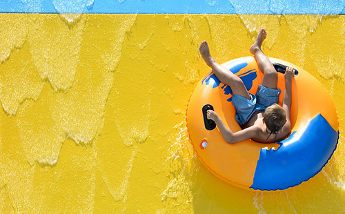 The Abyss slide at Hua Hin's Vana Nava offers the ultimate thrill