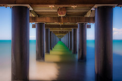 Under the Bridge (Matthew Post) Tags: longexposure beach canon pier post matthew jetty tamron herveybay 6d 2875 urangan matthewpost