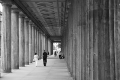 The National Gallery, Berlin (spicros78) Tags: travel berlin canon walking blackwhite ancient visit historic explore 2010